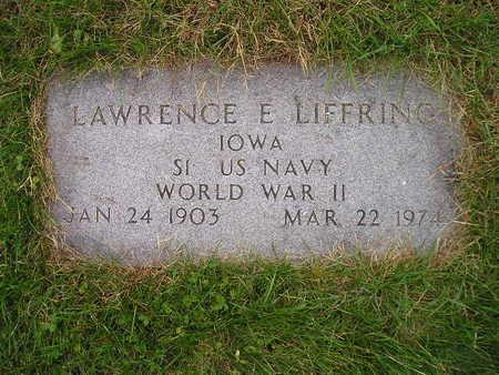 LIFFRING, LAWRENCE E - Bremer County, Iowa | LAWRENCE E LIFFRING