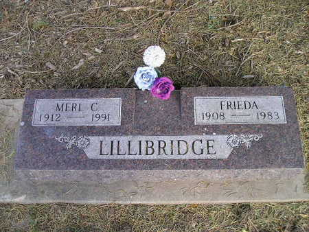 LILLIBRIDGE, FRIEDA - Bremer County, Iowa | FRIEDA LILLIBRIDGE