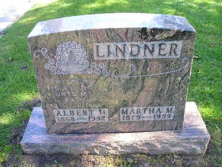 LINDNER, MARTHA M - Bremer County, Iowa | MARTHA M LINDNER