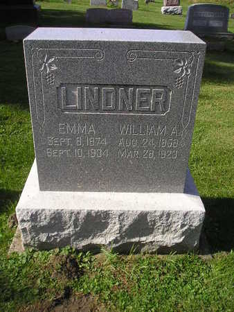 LINDNER, WILLIAM A - Bremer County, Iowa | WILLIAM A LINDNER