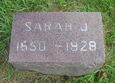 LINDQUIST, SARAH J - Bremer County, Iowa | SARAH J LINDQUIST