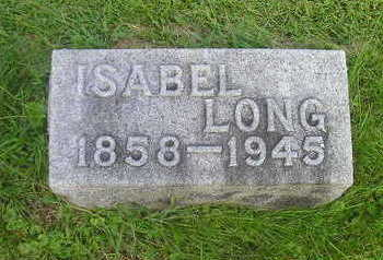 LONG, ISABEL - Bremer County, Iowa | ISABEL LONG