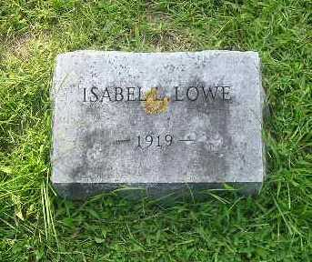 LOWE, ISABEL - Bremer County, Iowa | ISABEL LOWE