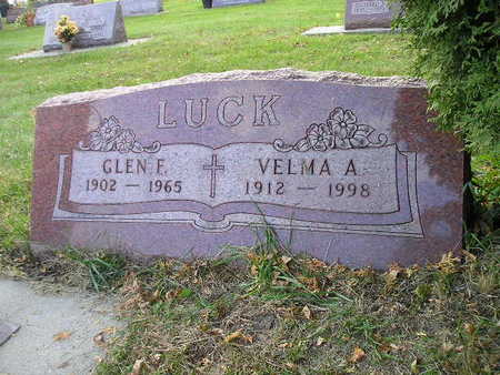 LUCK, VELMA A - Bremer County, Iowa | VELMA A LUCK