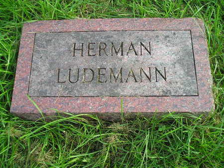 LUDEMANN, HERMAN - Bremer County, Iowa | HERMAN LUDEMANN