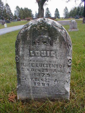 LUSSENHOP, LOUIE - Bremer County, Iowa | LOUIE LUSSENHOP