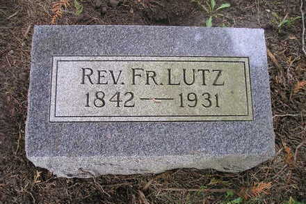LUTZ, REV.  FR. - Bremer County, Iowa | REV.  FR. LUTZ