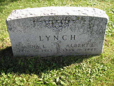LYNCH, ANNA L - Bremer County, Iowa | ANNA L LYNCH