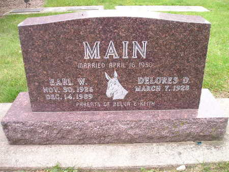 MAIN, EARL W - Bremer County, Iowa | EARL W MAIN
