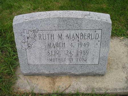 MANDERUD, RUTH M - Bremer County, Iowa | RUTH M MANDERUD