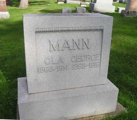 MANN, GEORGE - Bremer County, Iowa | GEORGE MANN