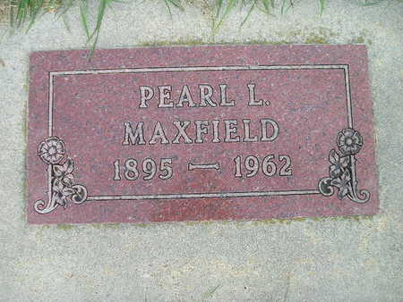 MAXFIELD, PEARL L - Bremer County, Iowa | PEARL L MAXFIELD