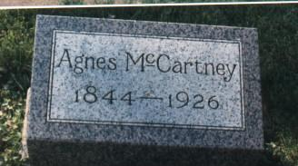 MCCARTNEY, AGNES - Bremer County, Iowa | AGNES MCCARTNEY