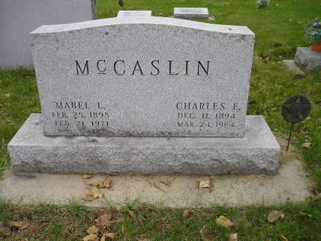 MCCASLIN, MABEL L - Bremer County, Iowa | MABEL L MCCASLIN