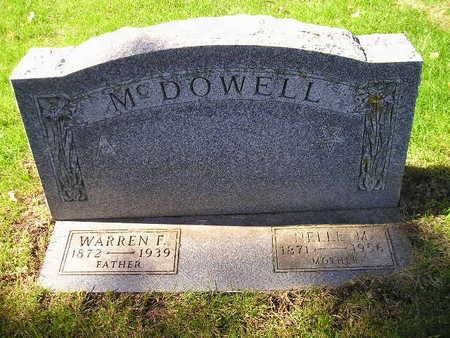 MCDOWELL, NELLIE M - Bremer County, Iowa | NELLIE M MCDOWELL