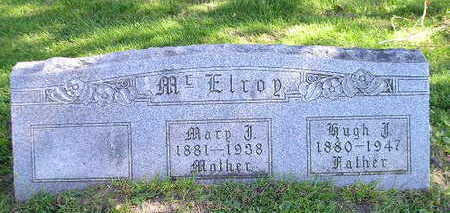 MCELROY, MARY - Bremer County, Iowa | MARY MCELROY