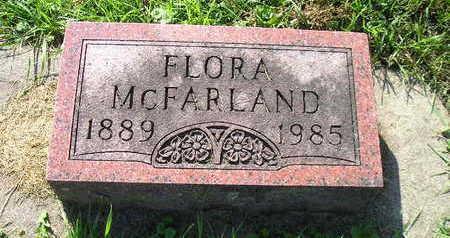 MCFARLAND, FLORA - Bremer County, Iowa | FLORA MCFARLAND