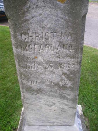 MCFARLANE, CHRISTINA - Bremer County, Iowa | CHRISTINA MCFARLANE