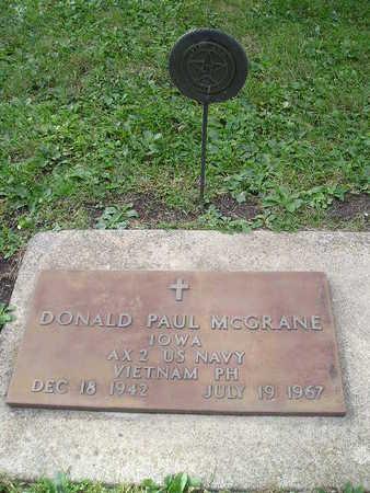 MCGRANE, DONALD PAUL - Bremer County, Iowa | DONALD PAUL MCGRANE