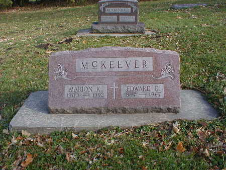 MCKEEVER, MARION K - Bremer County, Iowa | MARION K MCKEEVER