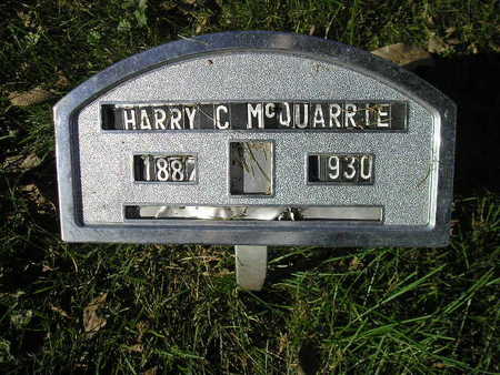 MCQUARRIE, HARRY C - Bremer County, Iowa | HARRY C MCQUARRIE
