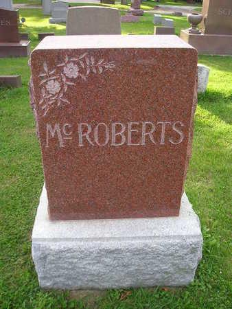 MCROBERTS, C MABEL - Bremer County, Iowa | C MABEL MCROBERTS