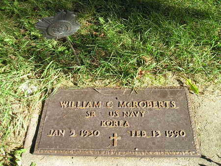 MCROBERTS, WILLIAM C - Bremer County, Iowa | WILLIAM C MCROBERTS