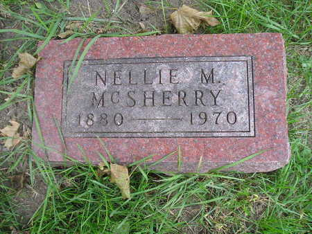 MCSHERRY, NELLIE M - Bremer County, Iowa | NELLIE M MCSHERRY