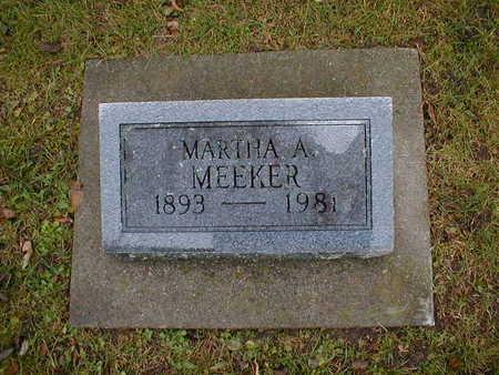 MEEKER, MARTHA A - Bremer County, Iowa | MARTHA A MEEKER