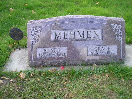 MEHMEN, GRACE - Bremer County, Iowa | GRACE MEHMEN