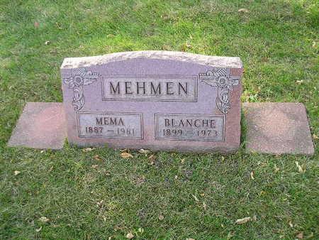MEHMEN, MEMA - Bremer County, Iowa | MEMA MEHMEN