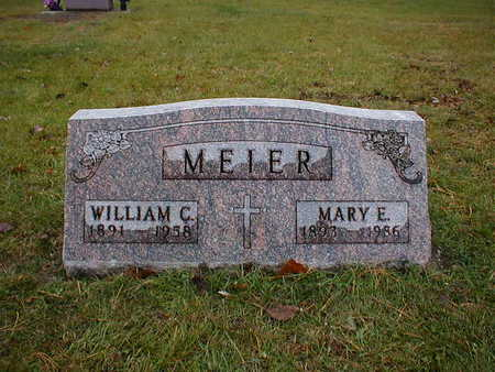 MEIER, MARY E - Bremer County, Iowa | MARY E MEIER