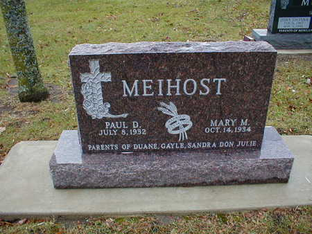 MEIHOST, MARY M - Bremer County, Iowa | MARY M MEIHOST