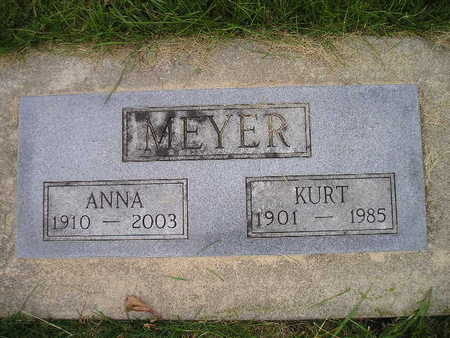 MEYER, KURT - Bremer County, Iowa | KURT MEYER