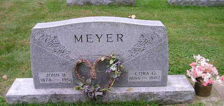 MEYER, CORA G - Bremer County, Iowa | CORA G MEYER