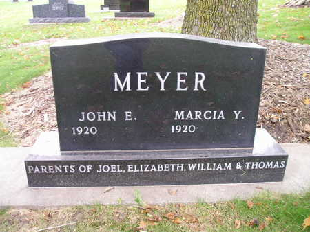 MEYER, JOHN E - Bremer County, Iowa | JOHN E MEYER
