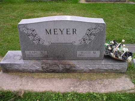 MEYER, RUTH M - Bremer County, Iowa | RUTH M MEYER