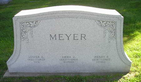 MEYER, LESTER E - Bremer County, Iowa | LESTER E MEYER