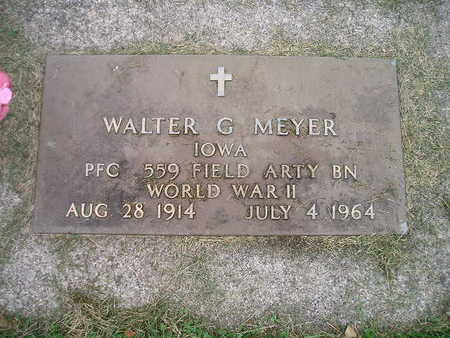 MEYER, WALTER G - Bremer County, Iowa | WALTER G MEYER