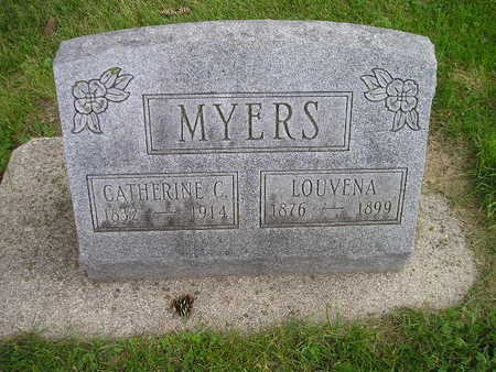 MEYERS, LOUVENA - Bremer County, Iowa | LOUVENA MEYERS
