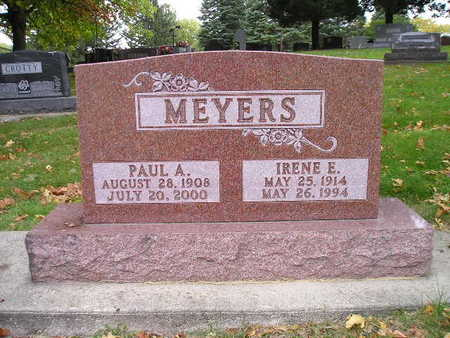 MEYERS, IRENE E - Bremer County, Iowa | IRENE E MEYERS