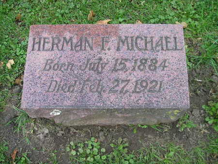 MICHAEL, HERMAN F - Bremer County, Iowa | HERMAN F MICHAEL