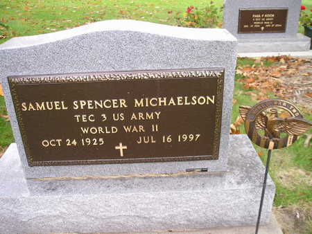 MICHAELSON, SAMUEL SPENCER - Bremer County, Iowa | SAMUEL SPENCER MICHAELSON