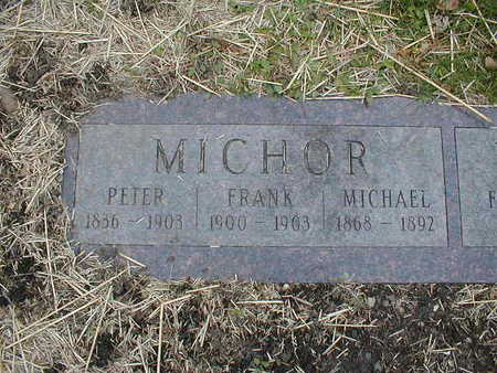 MICHOR, FRANK - Bremer County, Iowa | FRANK MICHOR
