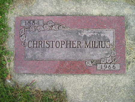 MILIUS, CHRISTOPHER - Bremer County, Iowa | CHRISTOPHER MILIUS