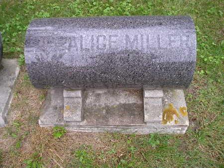MILLER, ALICE - Bremer County, Iowa   ALICE MILLER