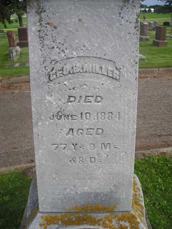 MILLER, GEO - Bremer County, Iowa | GEO MILLER