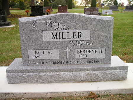 MILLER, PAUL A - Bremer County, Iowa | PAUL A MILLER