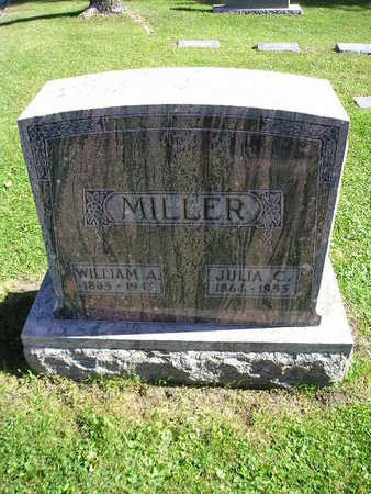 MILLER, WILLIAM A - Bremer County, Iowa | WILLIAM A MILLER