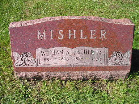MISHLER, ESTHER M - Bremer County, Iowa | ESTHER M MISHLER